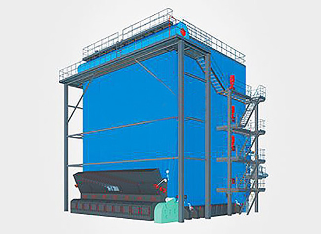 DHL Coal Fired Corner Tube Steam Boiler