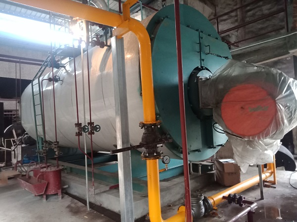 Oil and gas boiler operation